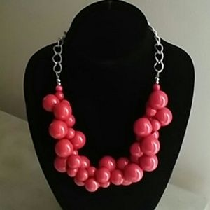 Jewelry - Red Bead Necklace